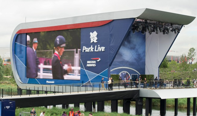 Zara Phillips on the big screen