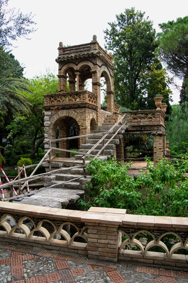 Taormina, English-style Gardens