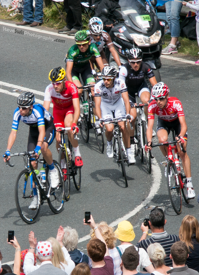 lead cyclists
